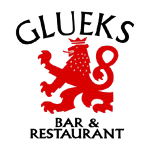 glueks bar and restaurant logo