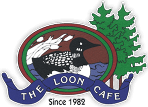 the loon cafe logo