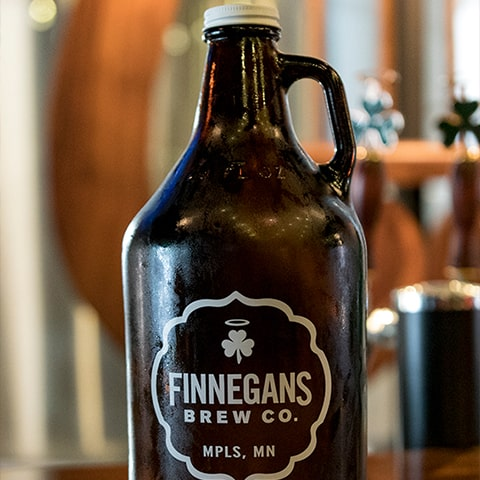 a growler from Finnegans