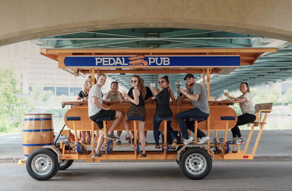 Magnificent Pedal Pub The Original Party Bike Evergreenethics Interior Chair Design Evergreenethicsorg