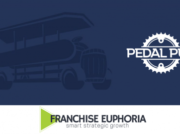 pedal pub and franchise euphoria logo
