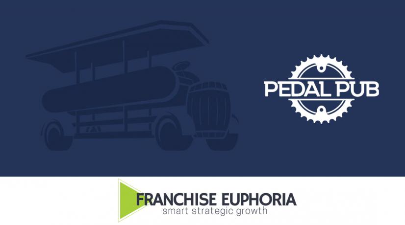 pedal pub and franchise euphoria logo